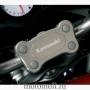 KAWASAKI OEM Part Number 010HBT0007 / HANDLE BAR BRIDGE / Накладка на руль Versys 650 '07-14